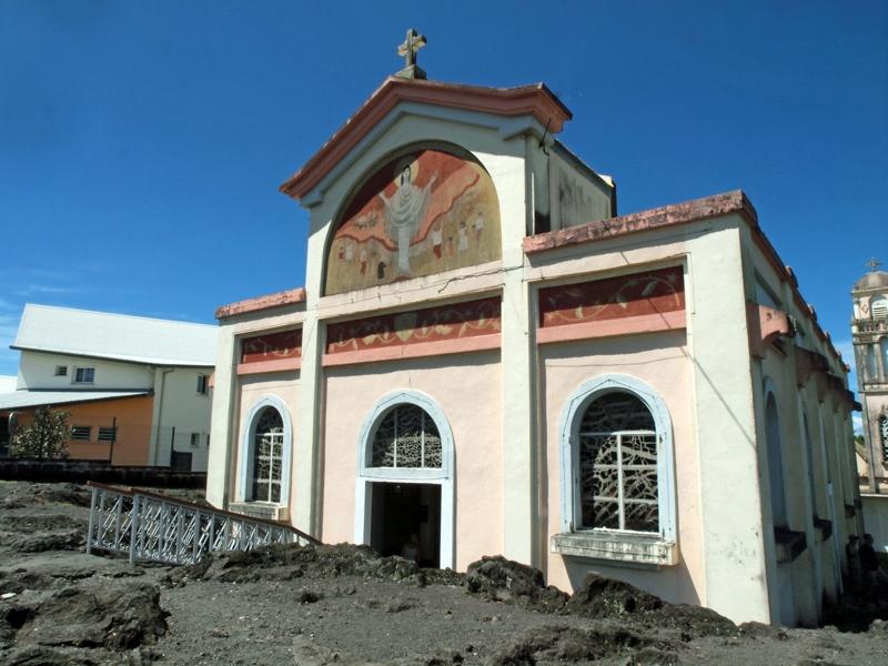Eglise Notre Dame des Laves, Piton Sainte Rose