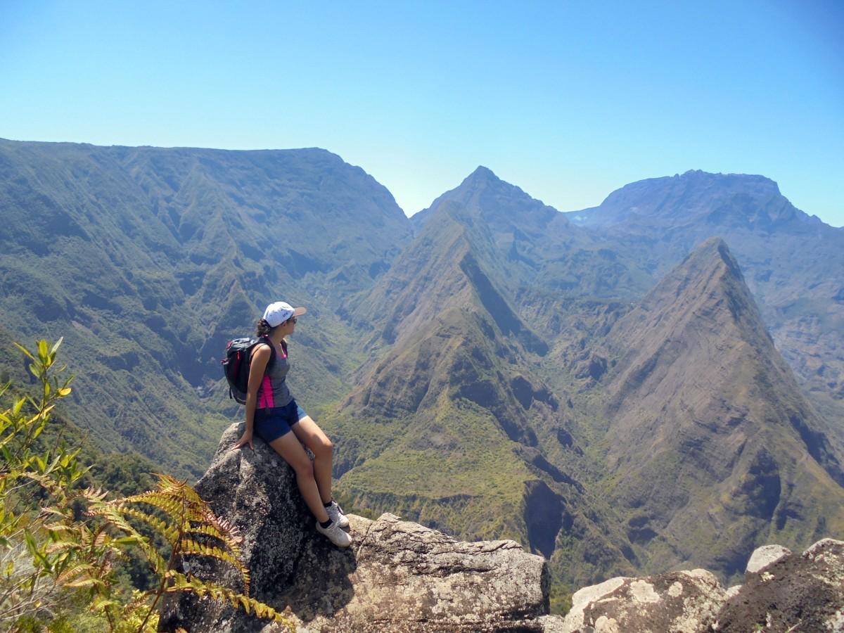 Randonnée Cap Noir & Roche Verre Bouteille, Ile de la Réunion