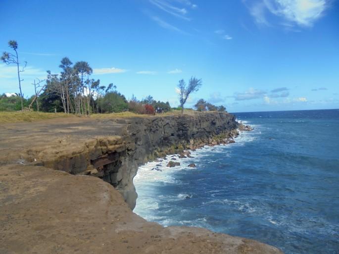 Randonnée sur le littoral de Saint Joseph, Ile de la Réunion