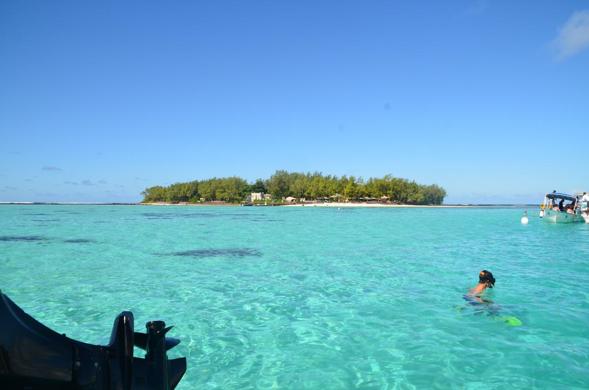 Snorkeling at Ile des deux cocos, Mauritius