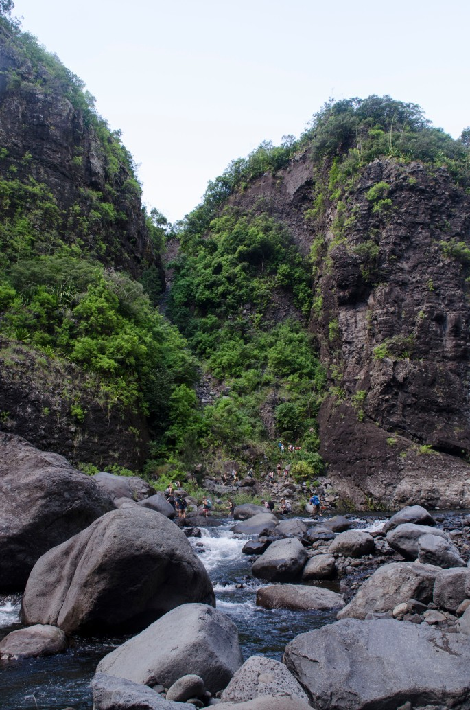 Mafate par la rivière des galets