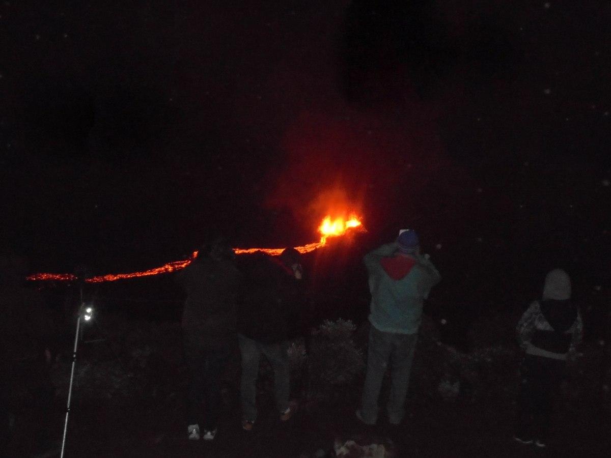 Eruption Piton de la Fournaise Ile de la réunion