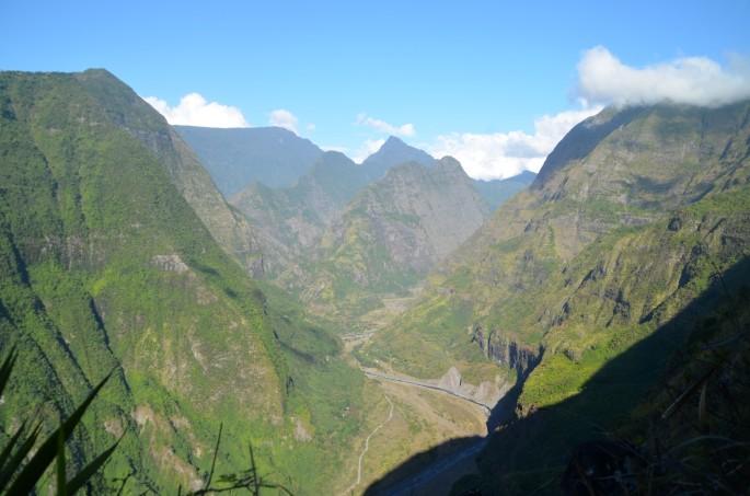 Rivière des galets, ile de la Réunion