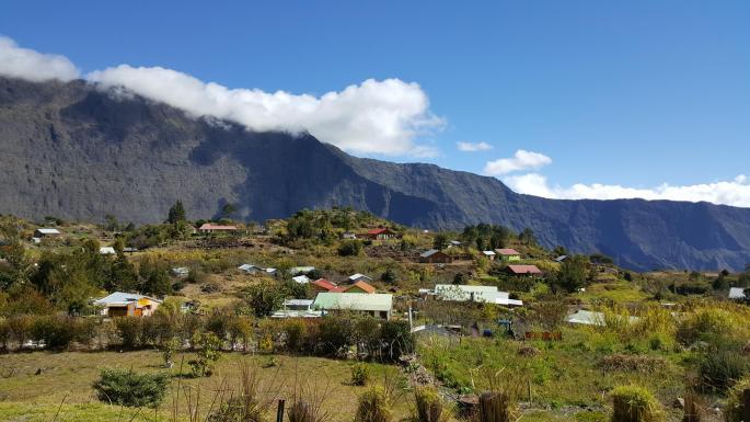 La Nouvelle (Mafate), ile de la Réunion