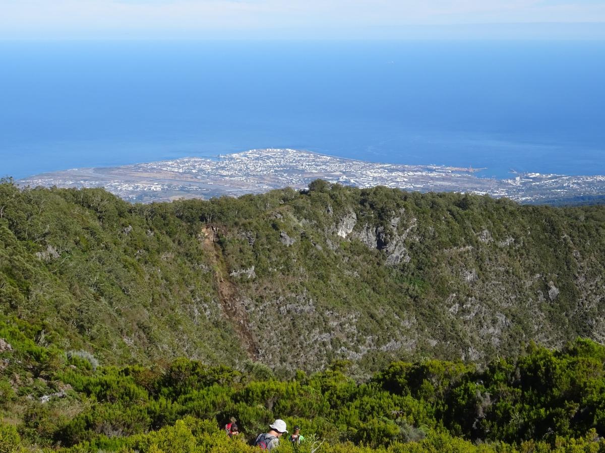 Randonnée à l' ile de la Réunion