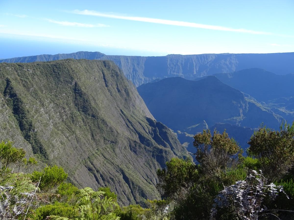 Paysage ile de la Réunion