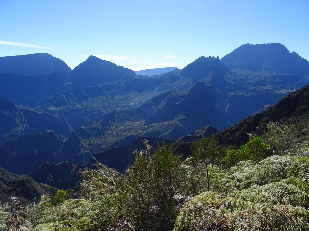 Randonnée au Cirque de Mafate , Ile de la Réunion