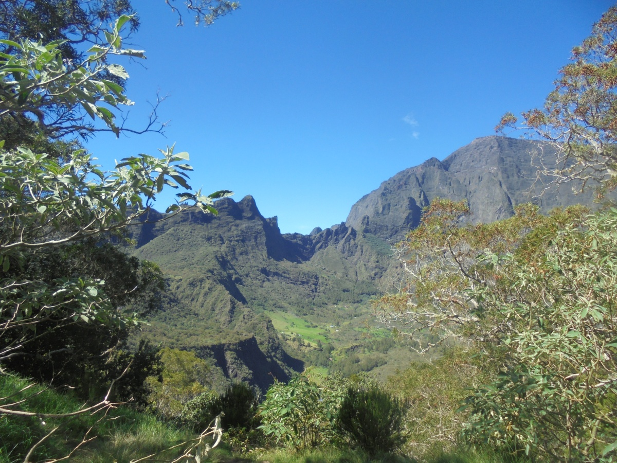 Randonnée à Mafate, ile de la Réunion