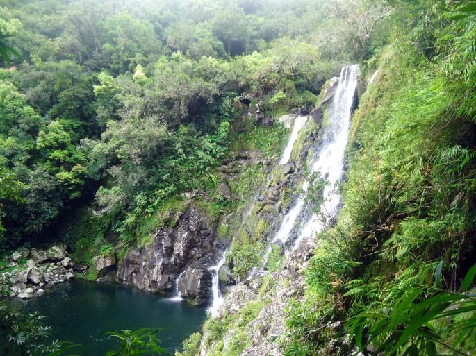Cascade Carosse, ile de la Réunion