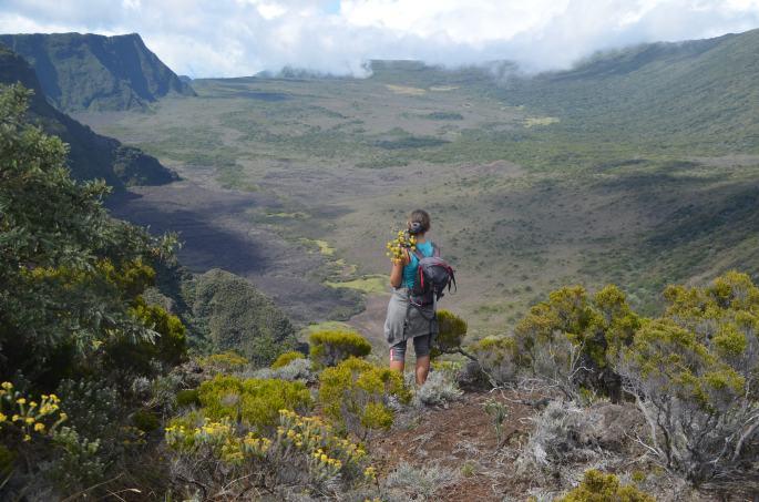 Randonnée Ile de la Réunion, Fond de la rivière de l'est
