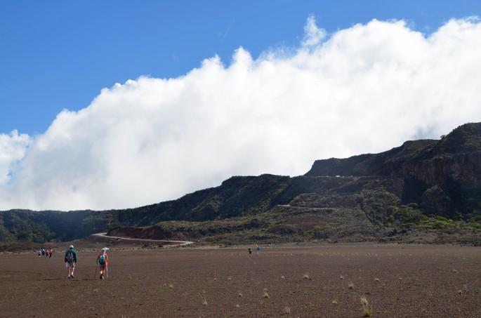 Randonée Oratoire Sainte-thérèse , La Plaine des sables, Ile de la Réunion