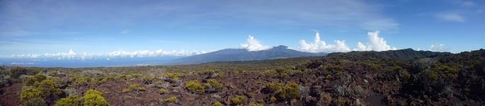 Randonnée ile de la Réunion , le Morne Langevin