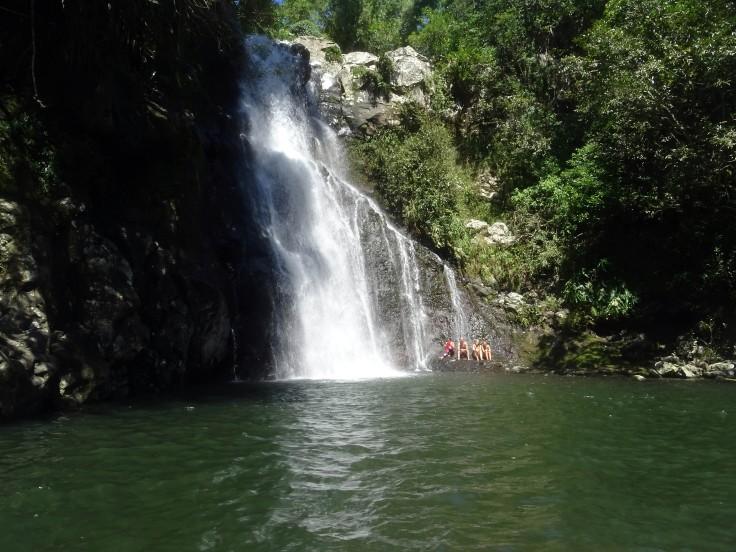 Bassin Z'éclair Espérance les bas Sainte-Marie Ile de la Réunion Randonnée