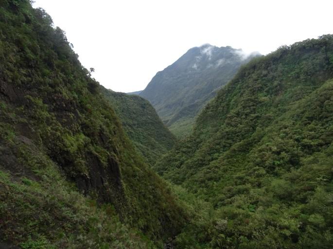 Sentier Scout , Mafate ile de la réunion randonnée
