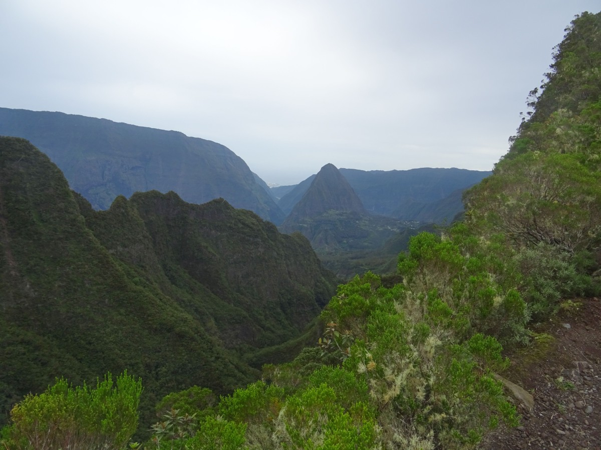 Mafate par le Sentier Scout, ile de la réunion randonnée