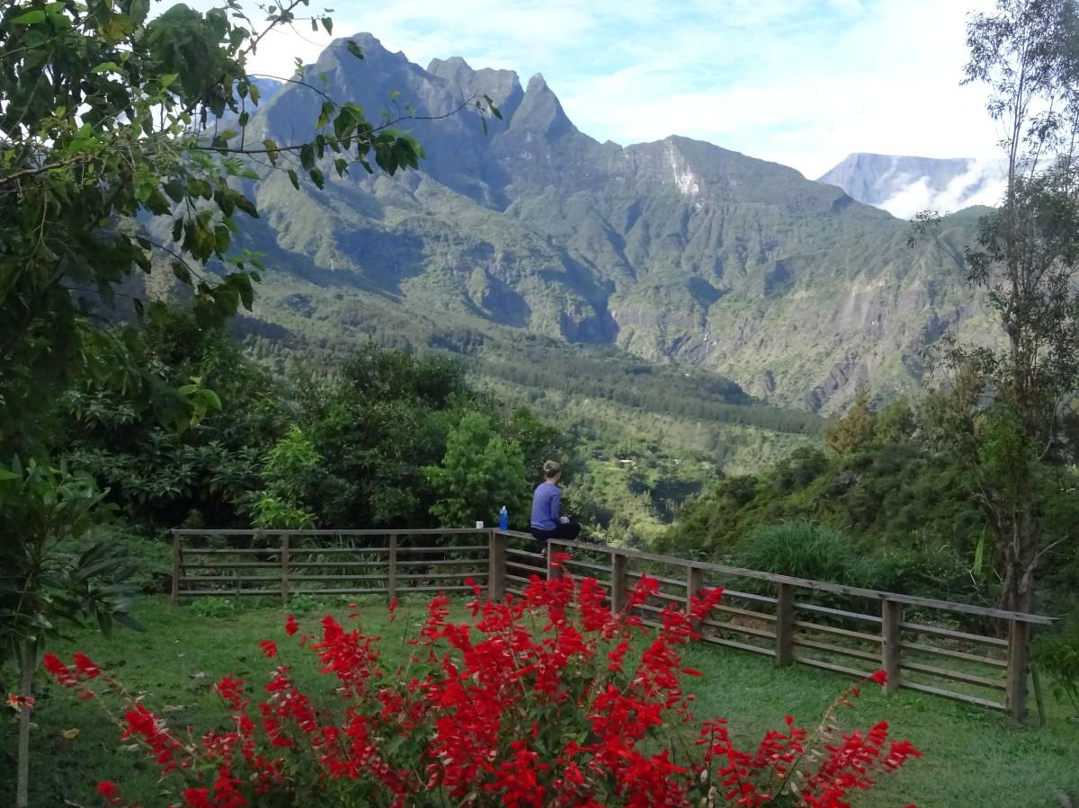 Gîte les Agapanthes Aurère Mafate Ile de la Réunion