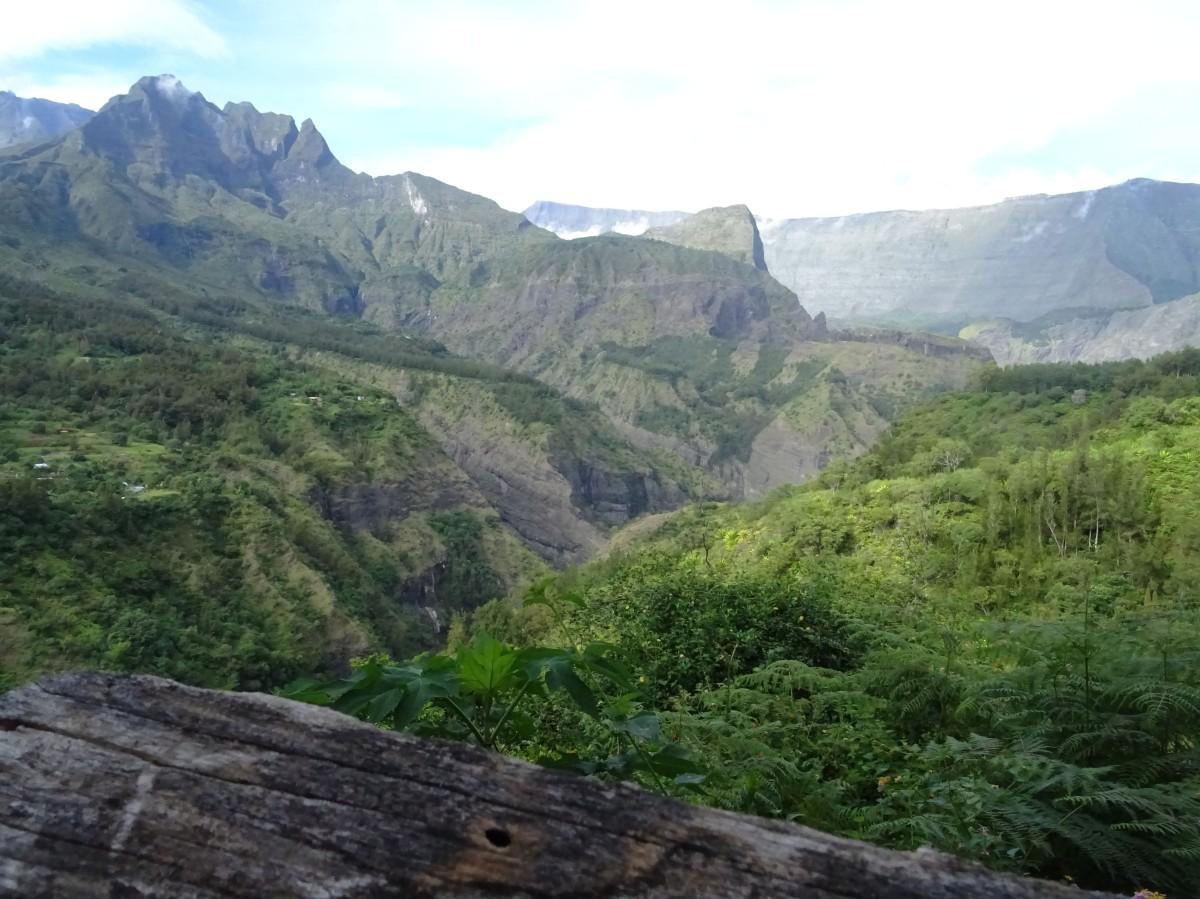 Randonnée à Aurère Mafate Ile de la Réunion