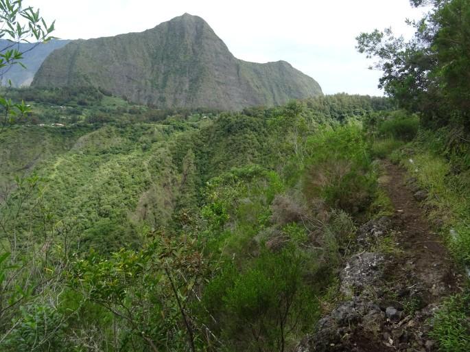 Sentier Augustave Mafate Randonnée Ile de la Réunion Aurère