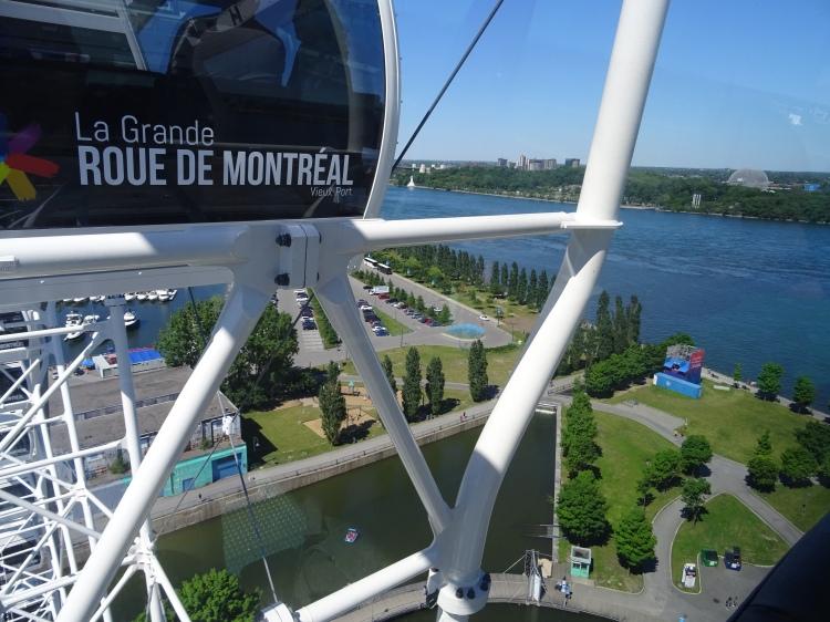 Grande roue de Montréal Canada