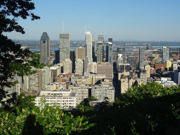 Le Mont royal Montréal Canada