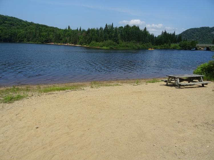 Lac Monroe Mont Tremblant Canada