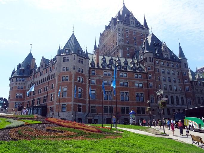 Château de Frontenac, Vieux-Québec, Canada