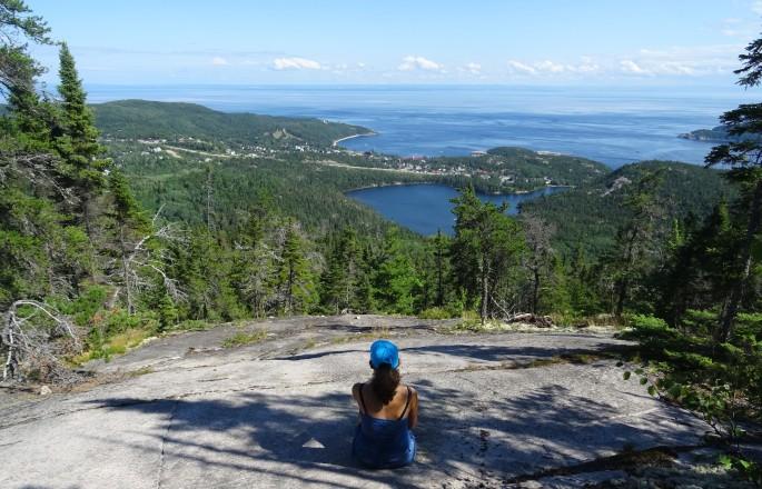 Tadoussac Canada Québec parc national du fjord de Sagnenay sentier du fjord randonnée