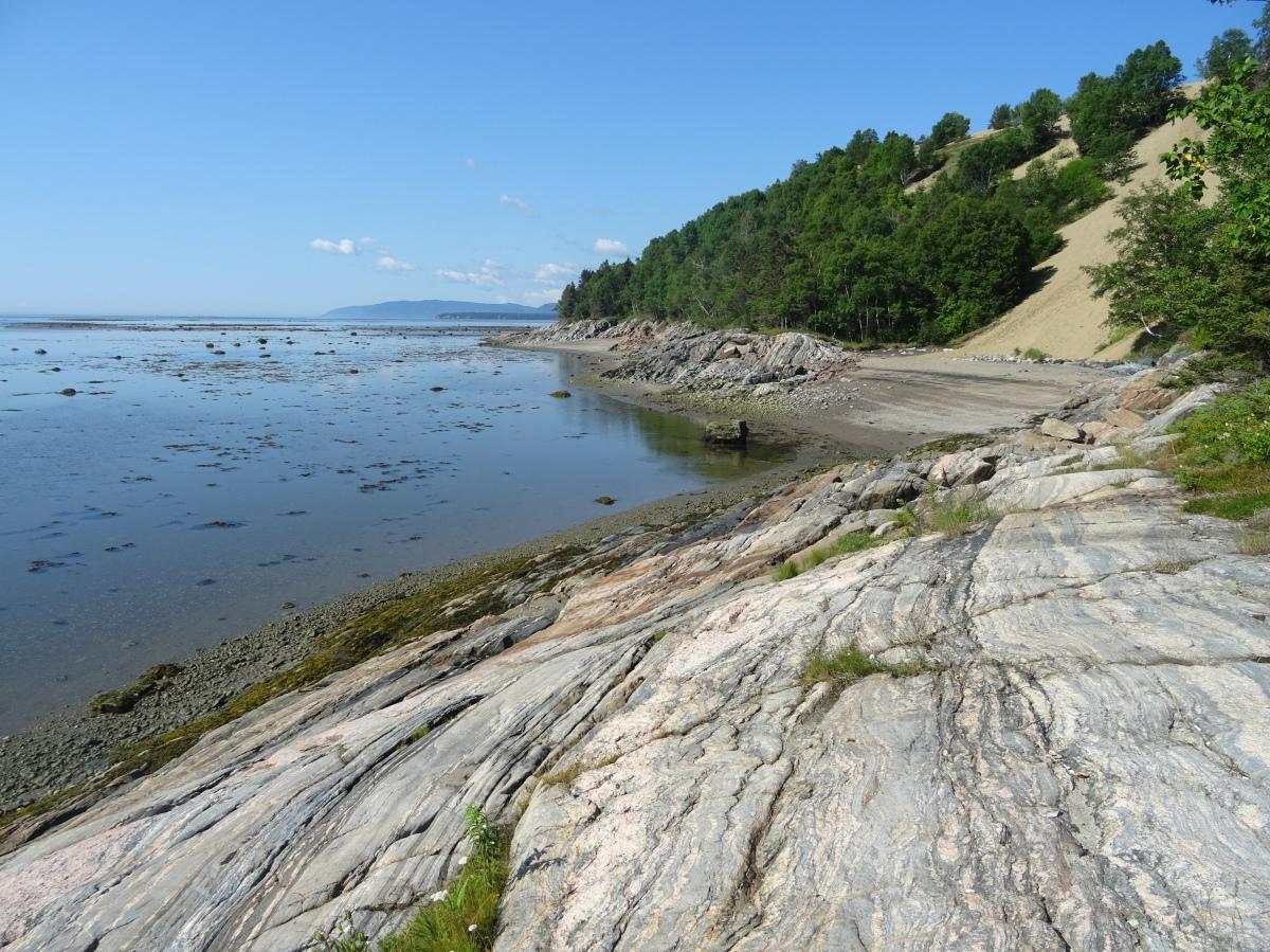 Tadoussac les dunes Canada Québec plage