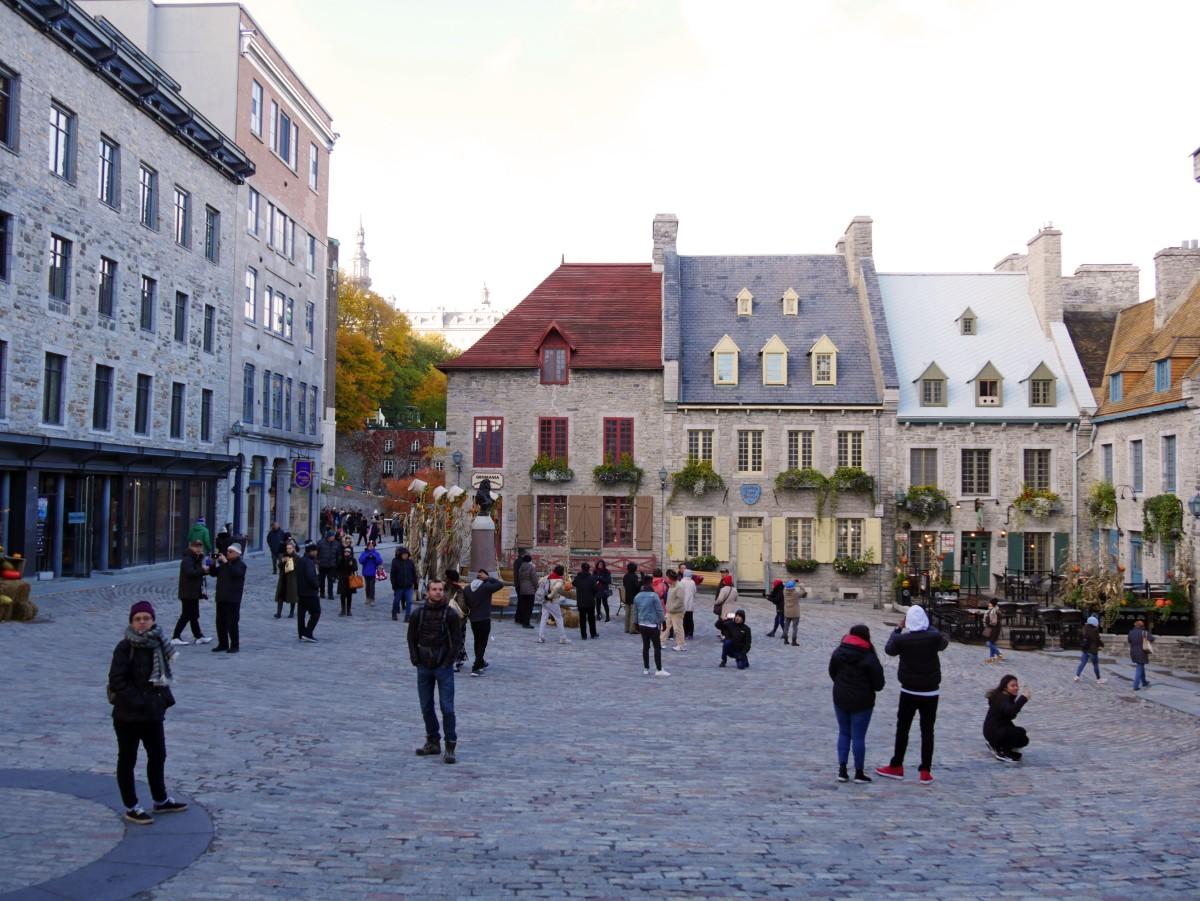 Place Royale, Vieux-Québec, Canada