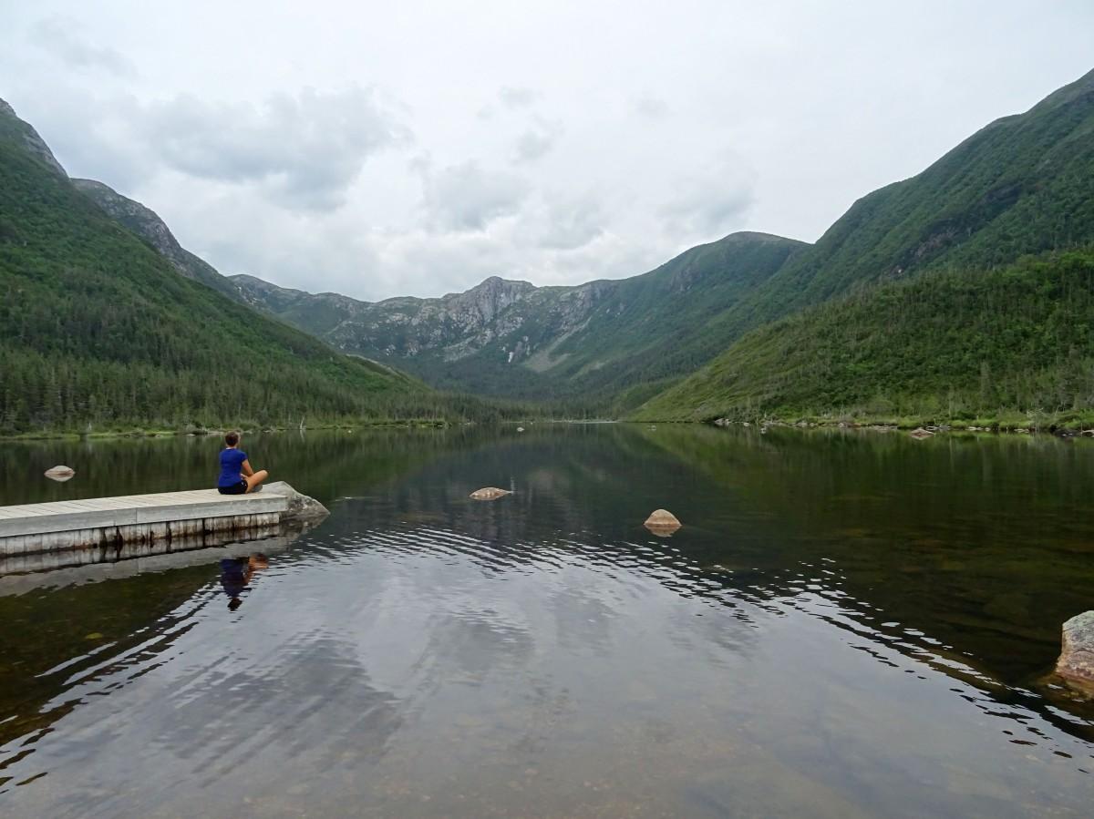 Road trip Québec Gaspésie Canada Parc national de la Gaspésie Lac aux Américains randonnée