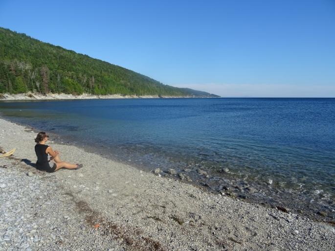 Road trip tour de la Gaspésie Québec Canada itinéraire Parc national du Forillon plage du petit gaspé