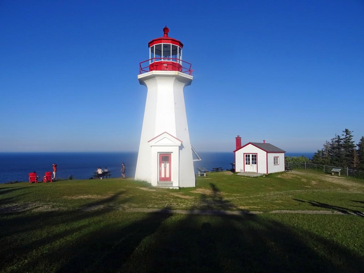 Road trip tour de la Gaspésie Québec Canada itinéraire Parc national du Forillon Cap Gaspé