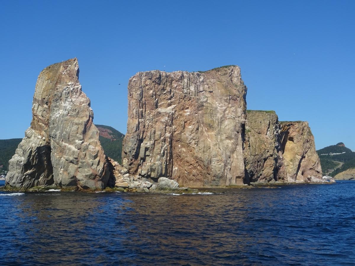 Itinéraire Road trip tour de la Gaspésie Québec Canada Parc national de l'île bonaventure et du rocher percé
