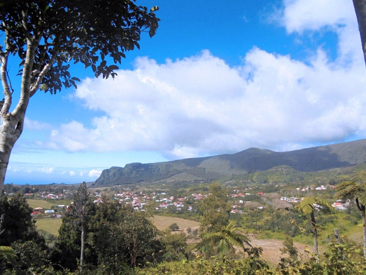 Village Plaine des palmistes Ile de la Réunion Randonnée Piton des songes
