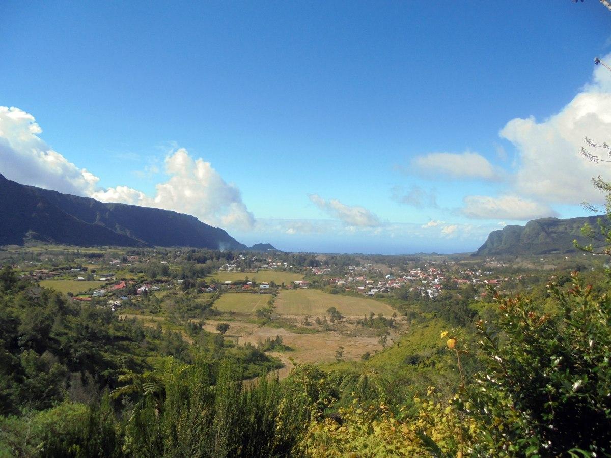 Bras des calumets Village Plaine des palmistes Ile de la Réunion Randonnée Piton des songes