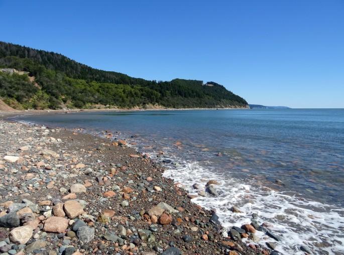 Long Beach Fundy trail plage nouveau brunswick voyage Canada road trip