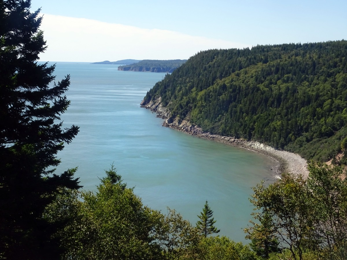 Fundy trail nouveau brunswick voyage Canada road trip