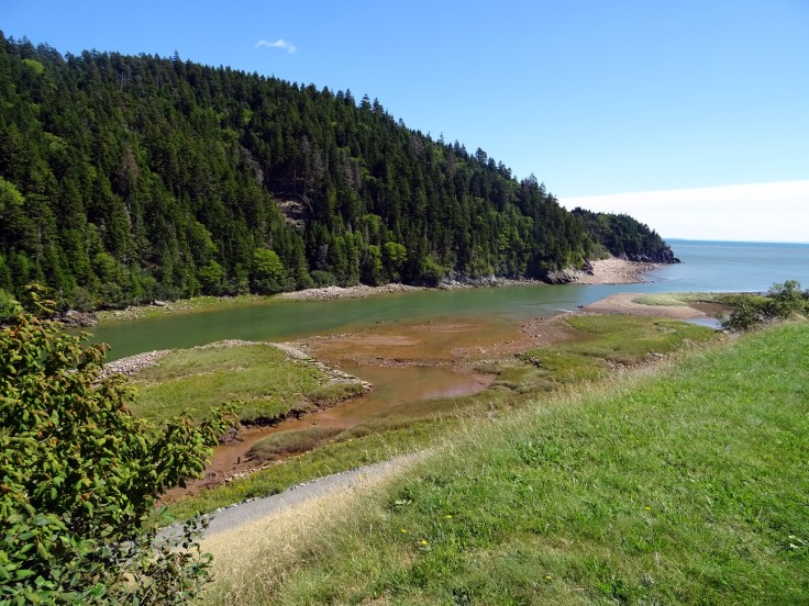 Bil salmon river  Fundy trail nouveau brunswick voyage Canada road trip
