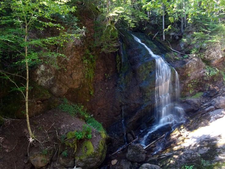 Fuller falls Fundy trail nouveau brunswick voyage Canada road trip
