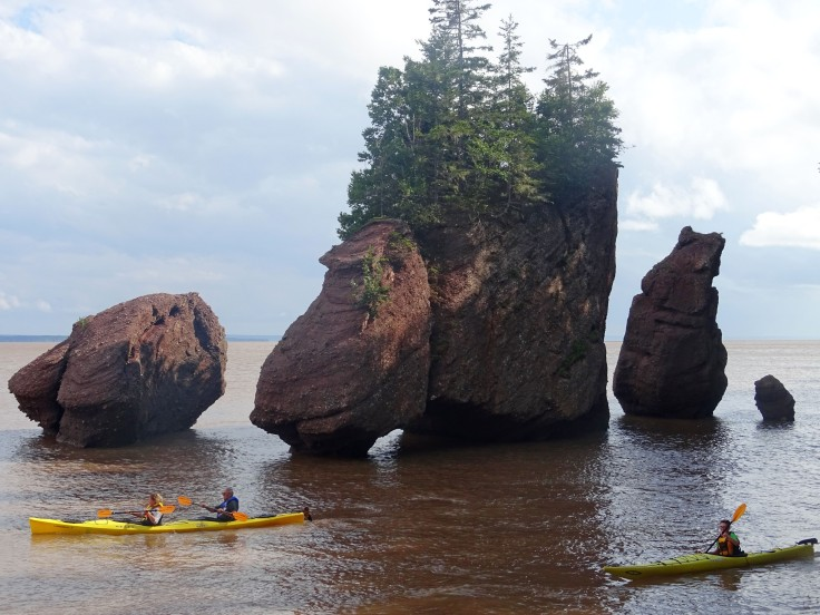canada nouveau brunswick hopewell rocks