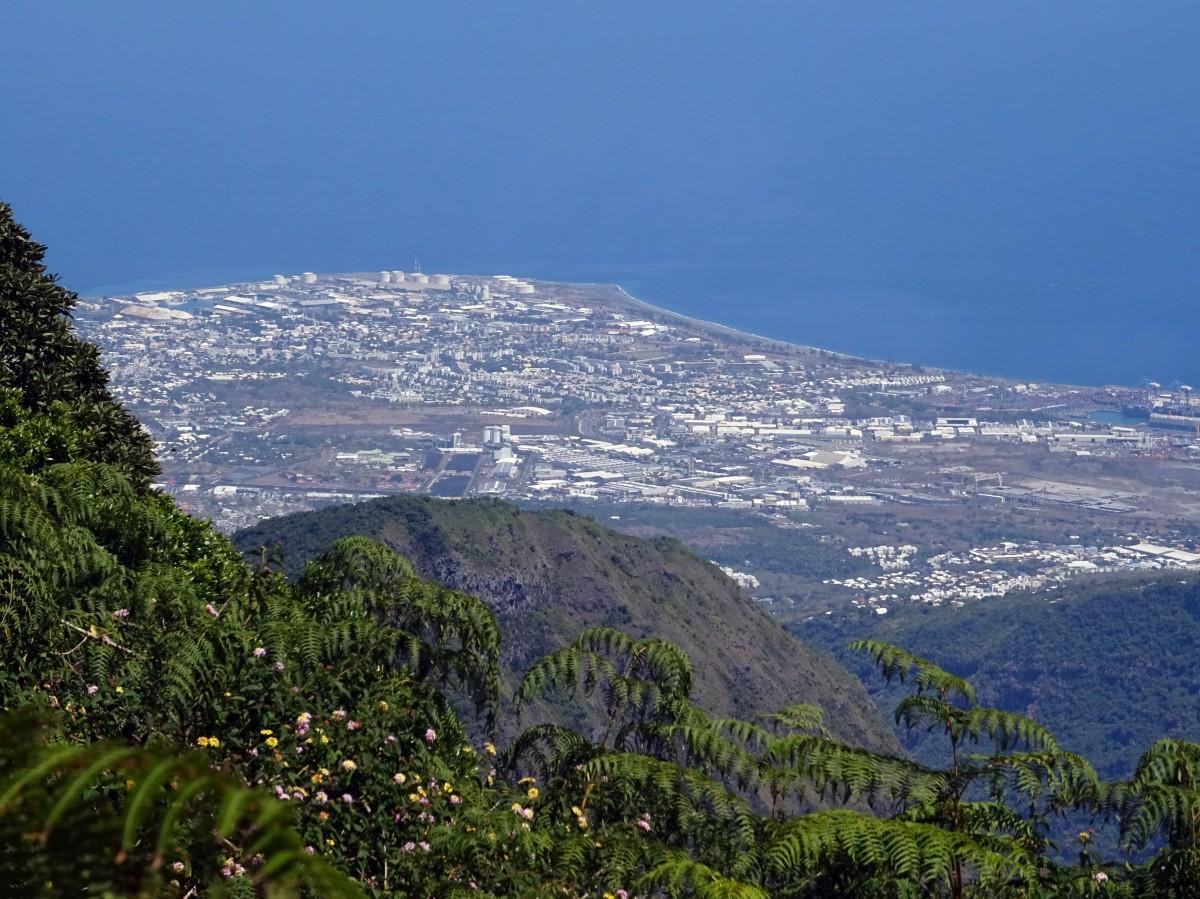 DSC00523Randonnée Ile de la Réunion Ilet Alcide depuis le Maido vue sur le cirque de Mafate paysages