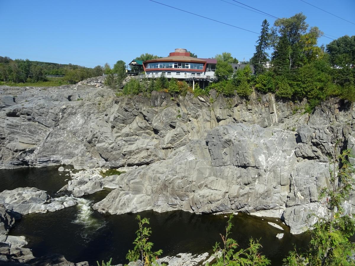 Gorge de grand sault grand falls nouveau brunswick canada road trip