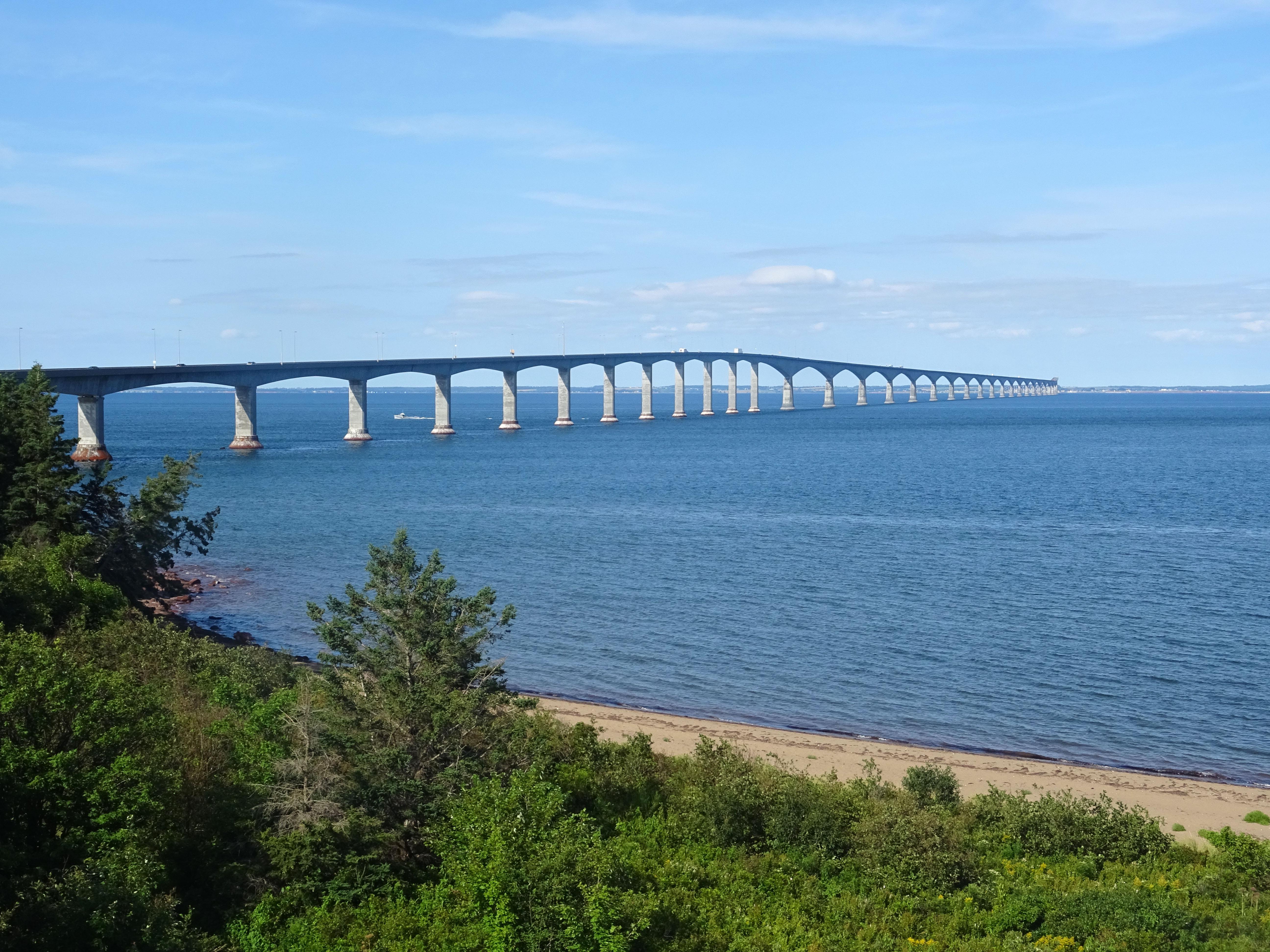 Pont de la Confédération Ile du Prince édouard Canada road trip itinéraire