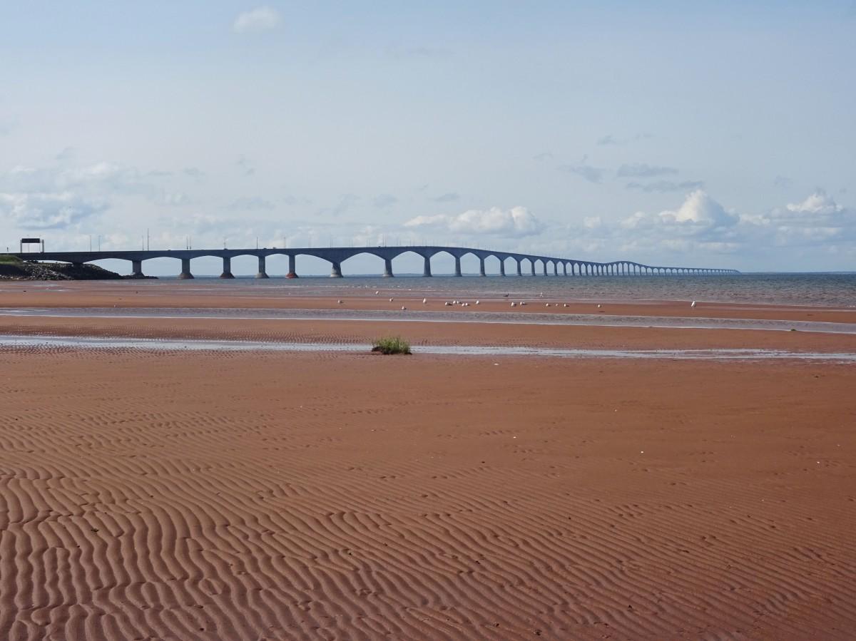 Plage canada ile du prince edouard pont de la confédération road trip itinéraire