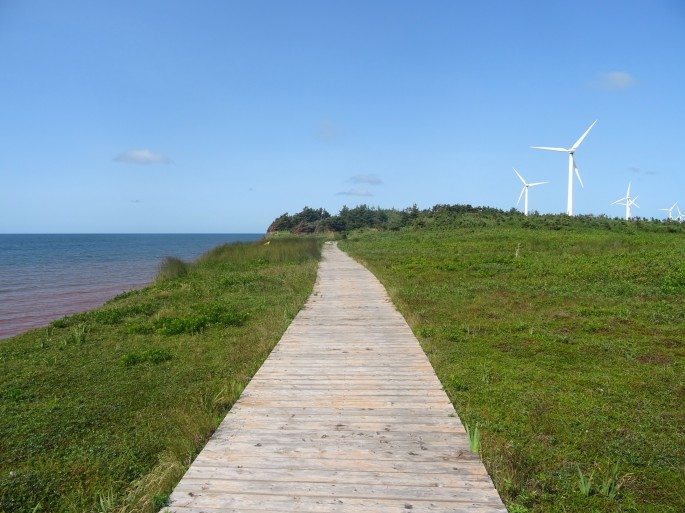 Ile du prince edouard Canada North Cape itinéraire road trip