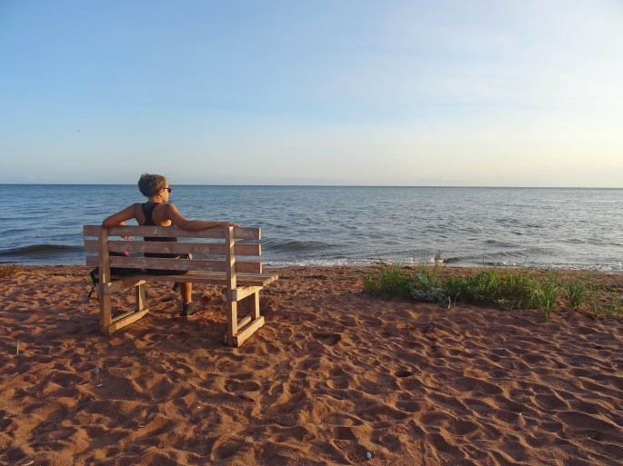 Plage Canada Ile du Prince edouard cedar dunes provincial park road trip itinéraire