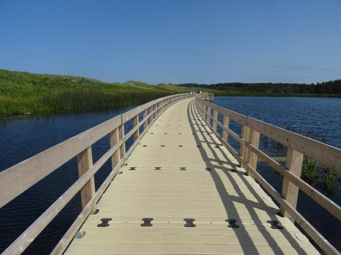 Parc national de l'île du prince edouard dunes trail Canada itinéraire road trip est canadien