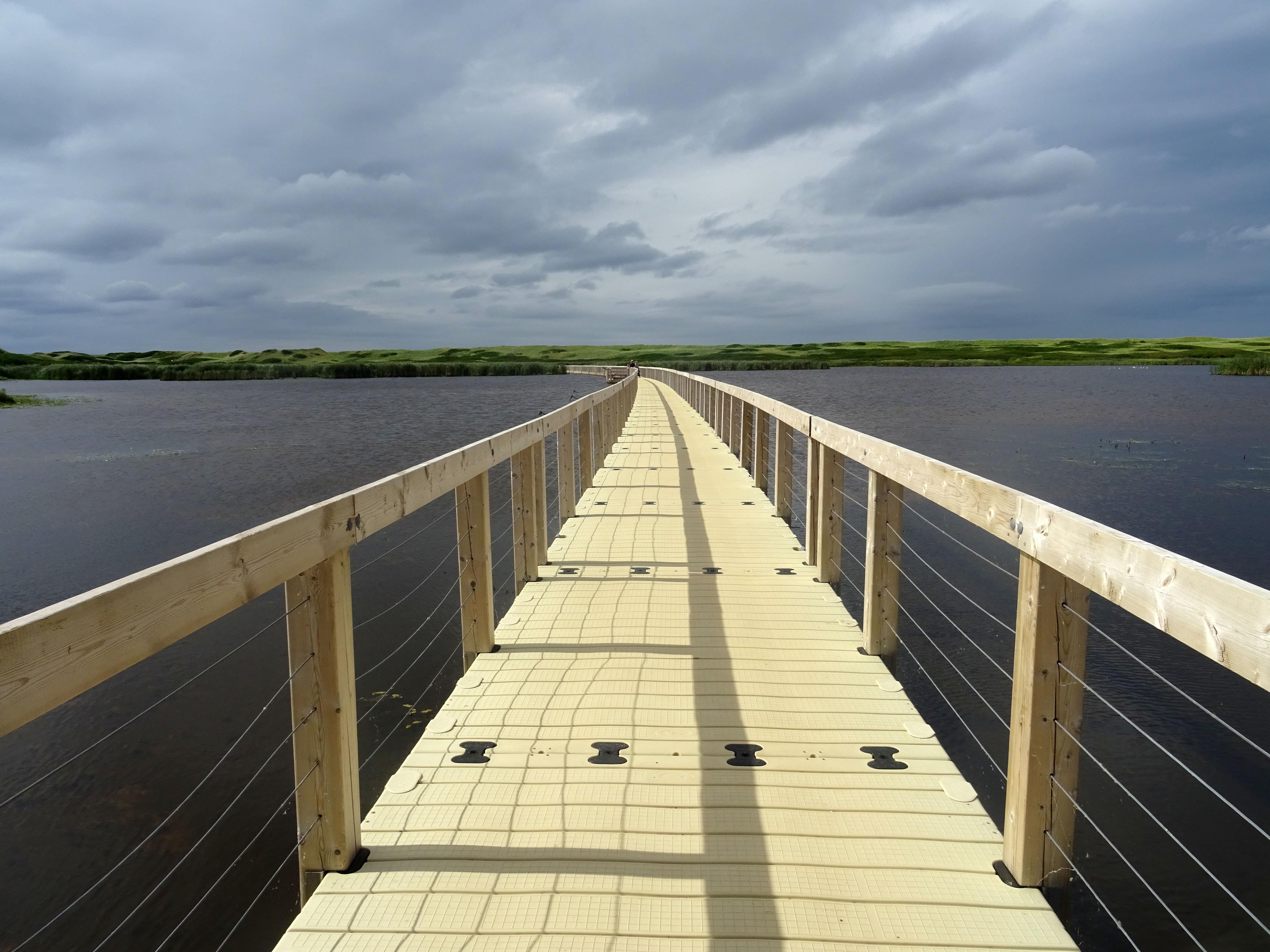 Parc national de l'île du prince edouard greenwich dunes de sable itinéraire road trip est canadien en été