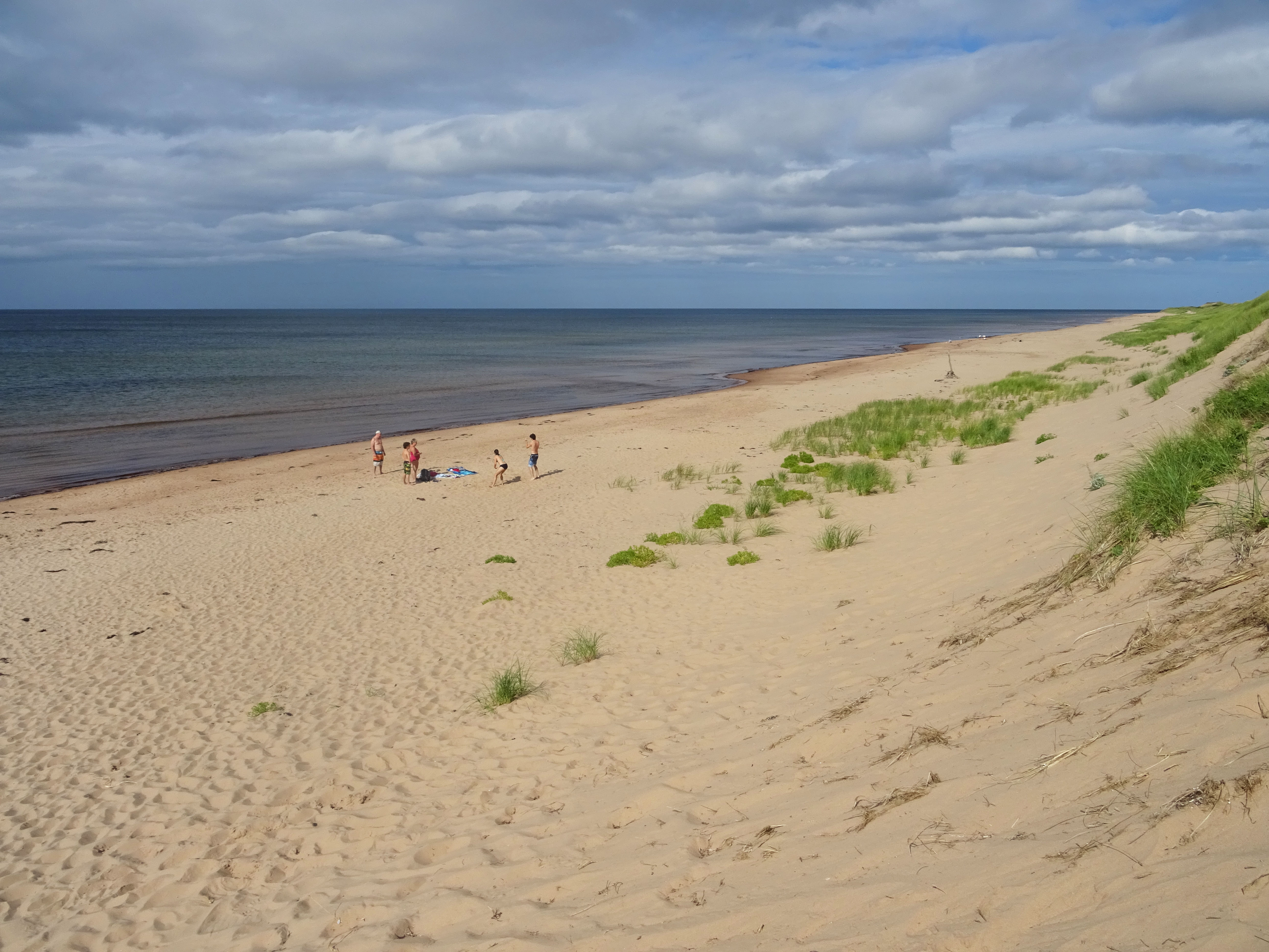 Plage Canada Parc national de l'île du prince edouard greenwich dunes de sable itinéraire road trip est canadien en été