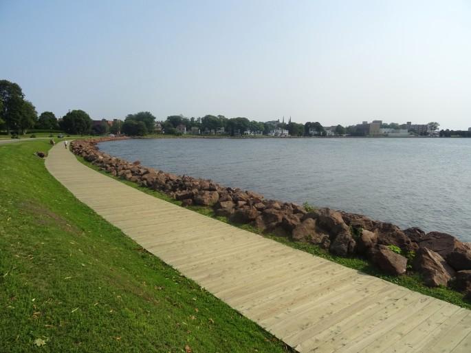 Charlottetown Victoria park ile du prince edouard Canada road trip itinéraire est canadien en été